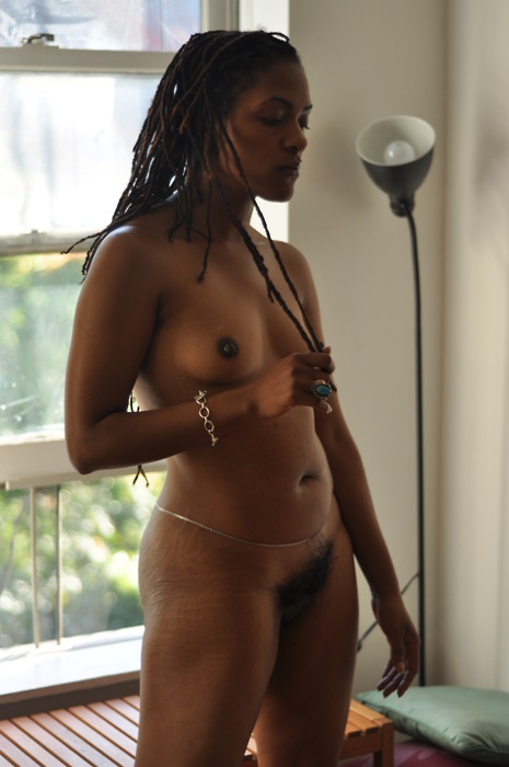 at home nude