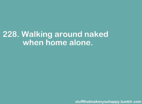 nude home alone