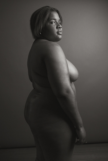 posed african american woman