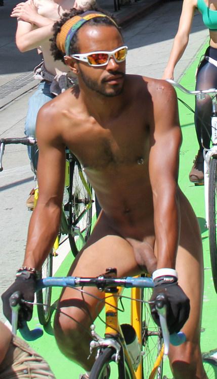 WNBR biker