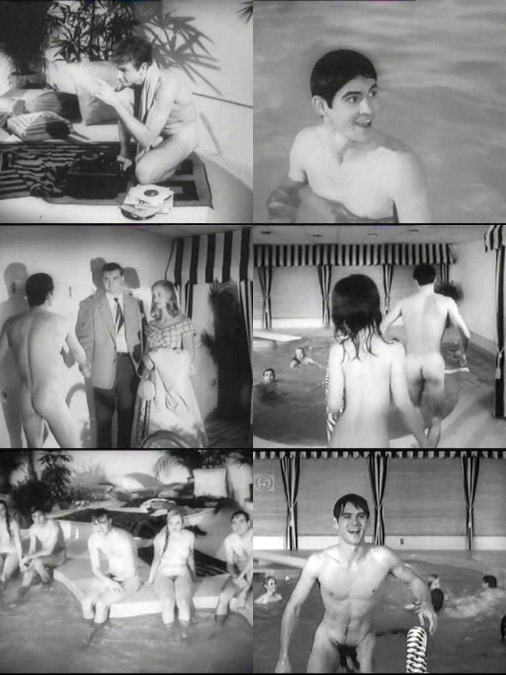 Skinny-dip scene
