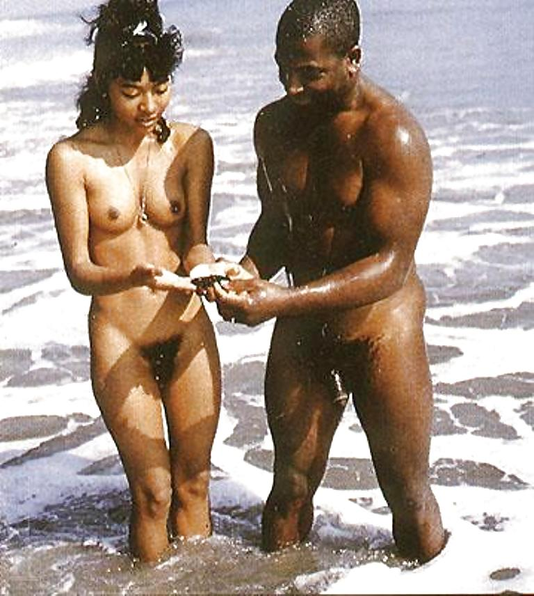 Vintage African Americans couple