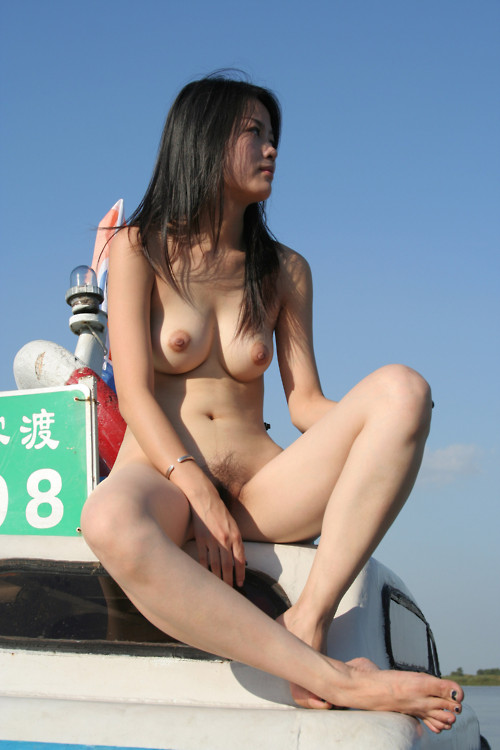 on the car