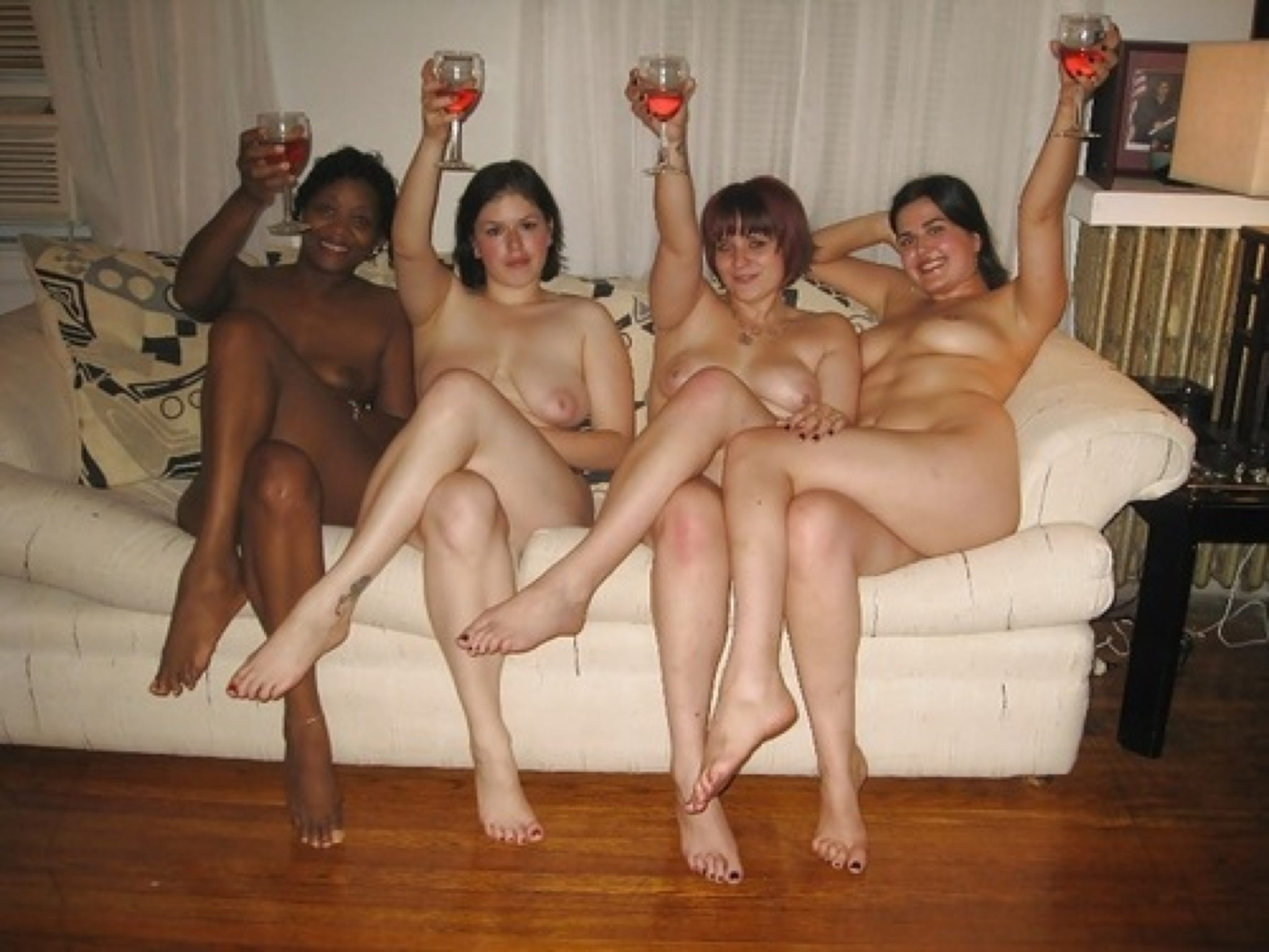 Share Naked family party