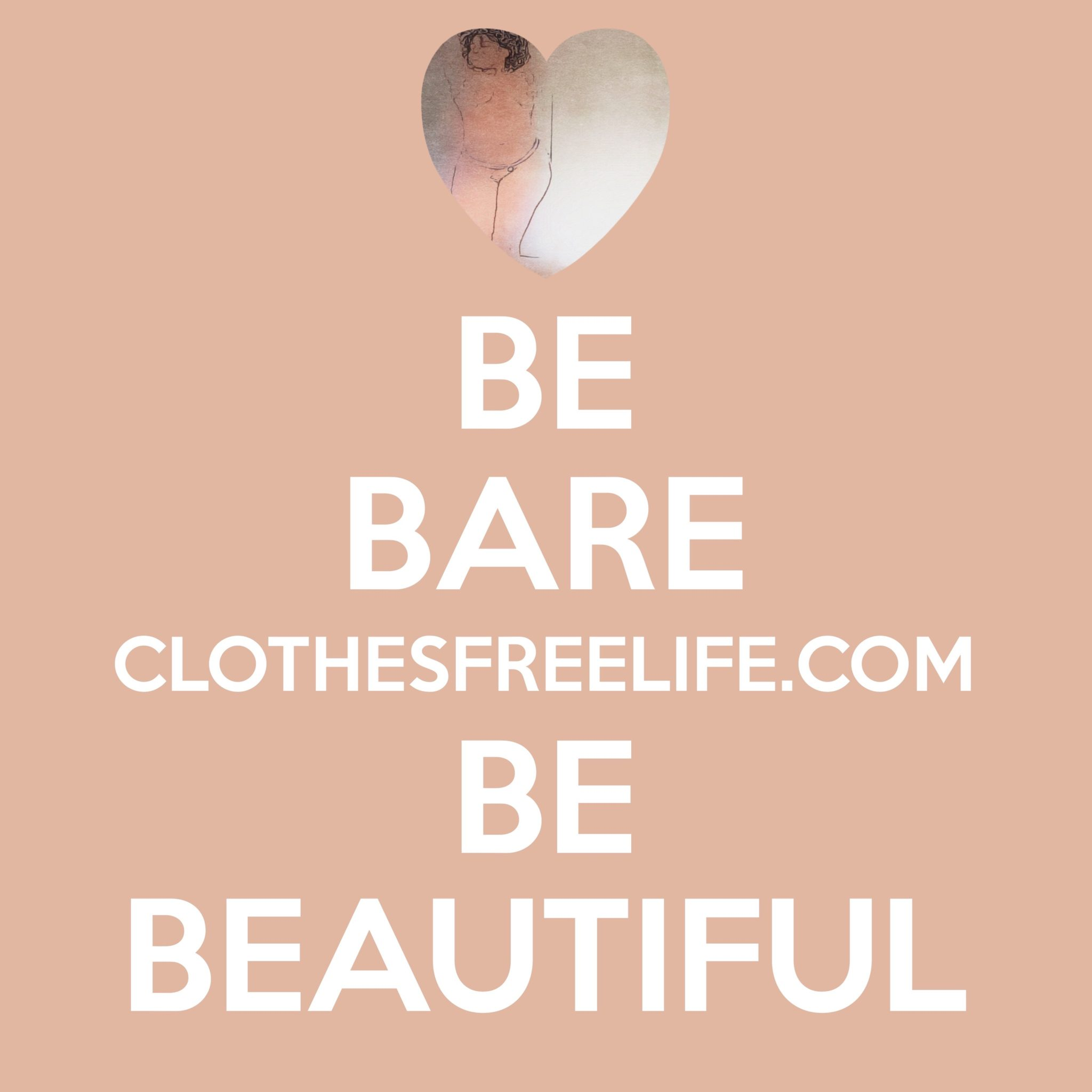 Be bare and be beautiful