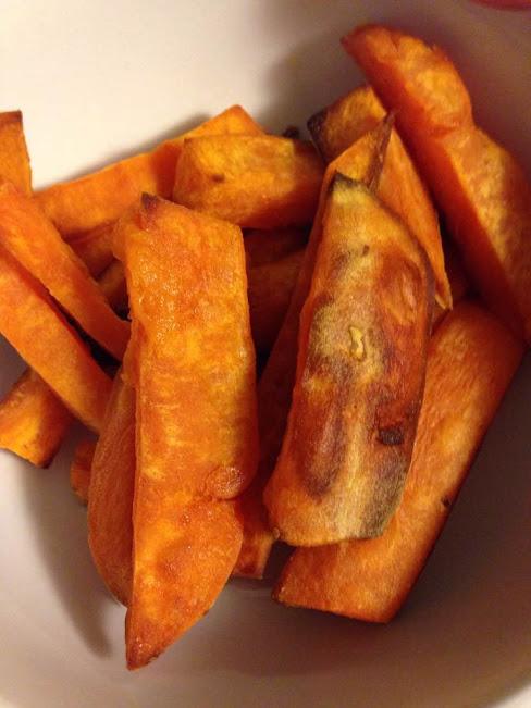 sweet potato fries bowl