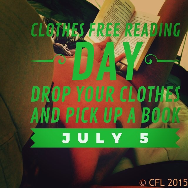 Clothes free reading day is here