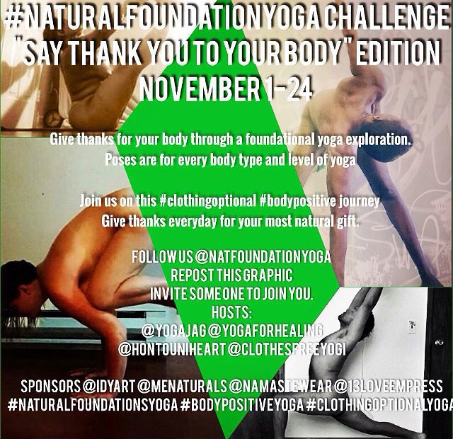 natural foundation yoga: an opportunity to reconnect, give thanks and transform