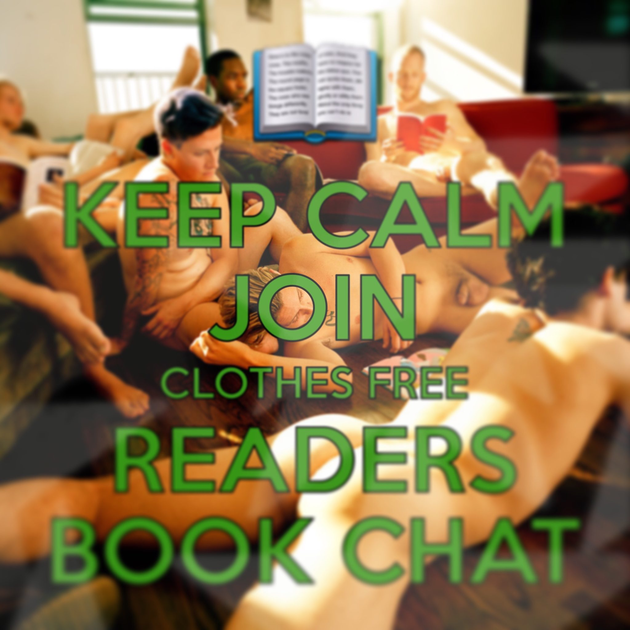 Join th clothes free readers book chat