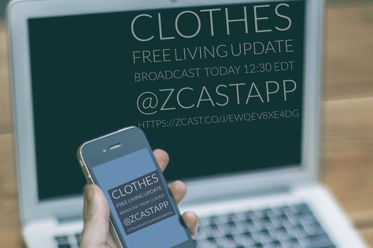 clothes free living update broadcast audio today